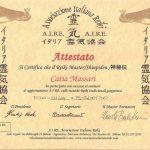 A.I.R.E. Master Reiki Teacher