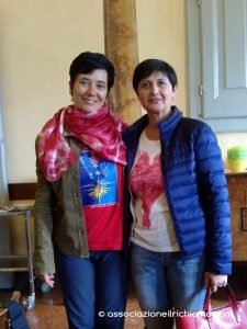 Catia con Selene Calloni Williams