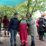 Catia e Daniela con Abuela