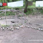 Scheletro della capanna