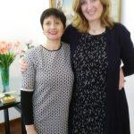 Catia con Gabriele Rosemarie Paulson