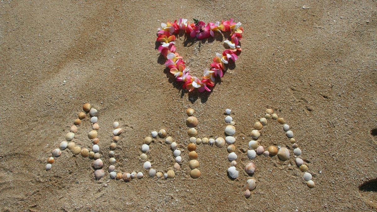 Aloha è una parola hawaiana come Ho'oponono tecnica insegnata al seminario